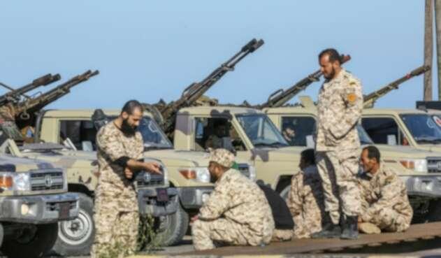 COMBATES LIBIA Fuerzas de Haftar