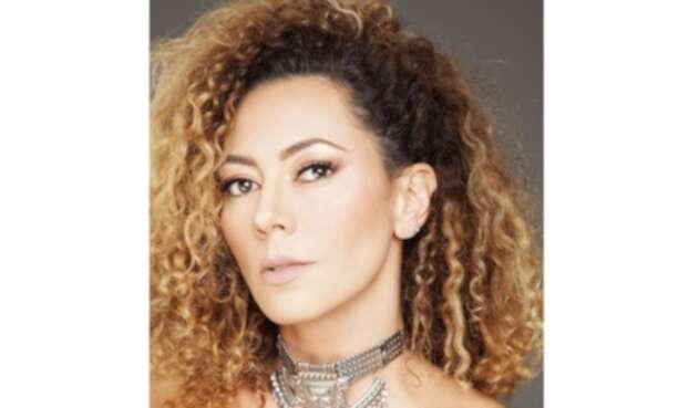 La actriz Andrea Guzmán.