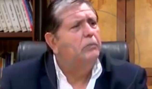 Alan García, expresidente de Perú, horas antes de suicidarse
