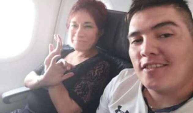 Ilse Amory Ojeda y Juan Guillermo Valderrama Amezquita