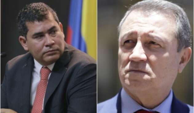 Alejandro Chacón y Ernesto Macías, congresistas