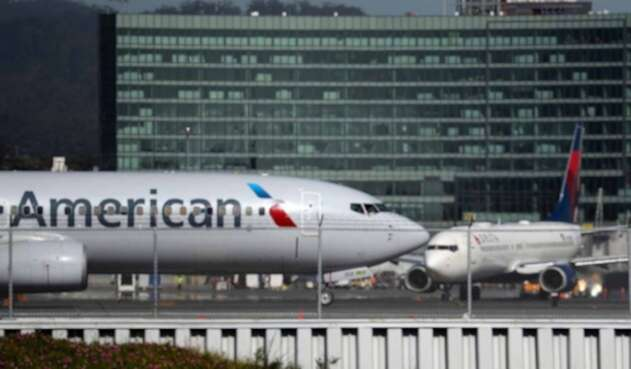Airlines Boeing 737, de American Airlines y Delta