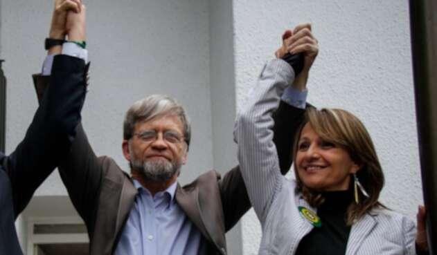 Antanas Mockus y Ángela Robledo, congresistas