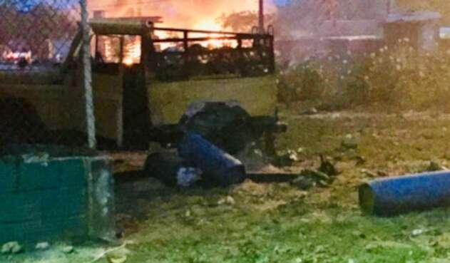 ELN lanzó explosivos contra vivienda de un líder político en Arauca