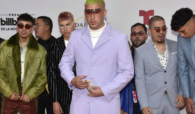 Bad Bunny en los Premios Latin Billboards 2019