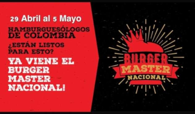 Imagen oficial del evento Burger Master