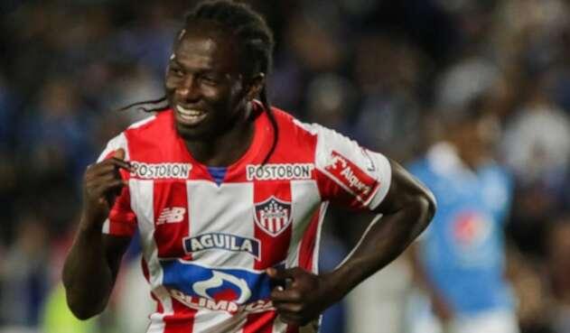 Yimmi Chará, jugador colombiano.