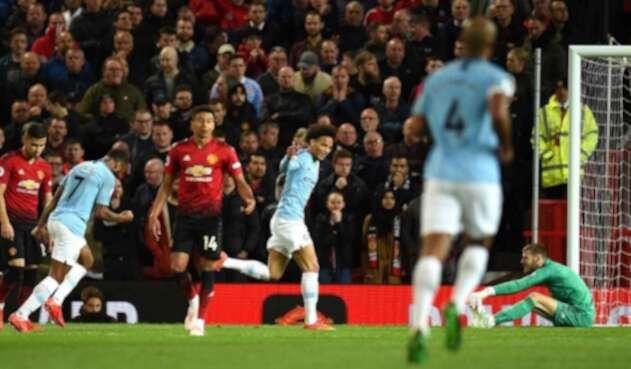 Manchester City derrotó al Mánchester United