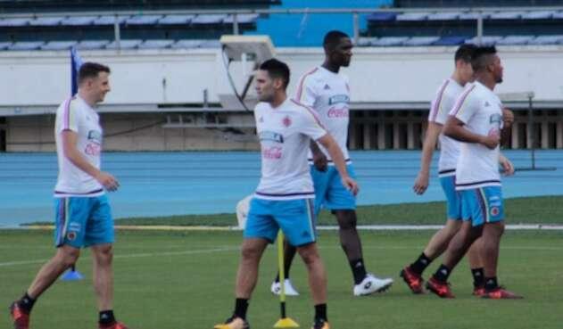 Selección Colombia entrenando en Barranquilla