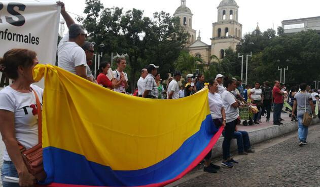 Paro Nacional en Cúcuta