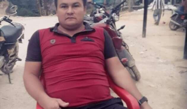 Dimar Torres, persona asesinada en el municipio de Convención, Norte de Santander