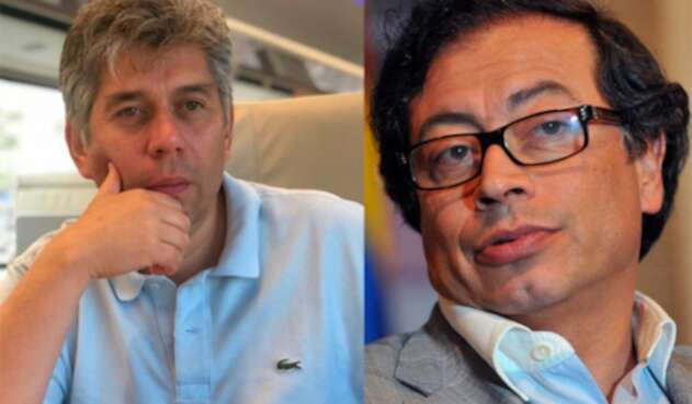 Daniel Coronell y Gustavo Petro