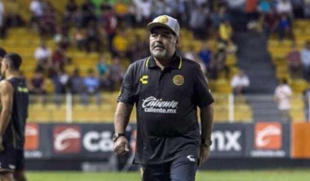 Diego Maradona, técnico de Dorados