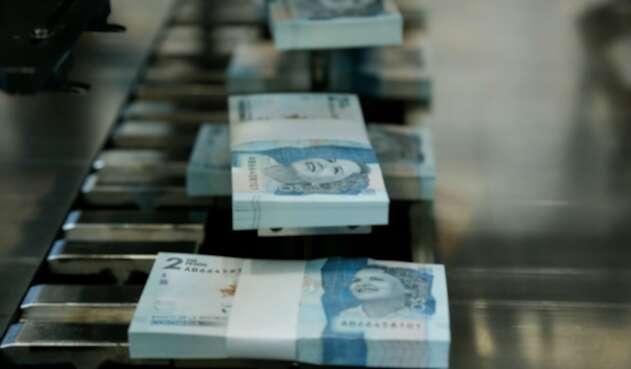 Billetes nuevos de 2.000 pesos