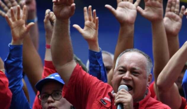 Diosdado Cabello, presidente de la Asamblea Nacional Constituyente del régimen de Nicolás Maduro