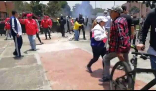 Disturbios en El Cortijo