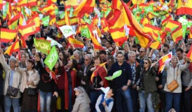 España vota para elegir Congreso
