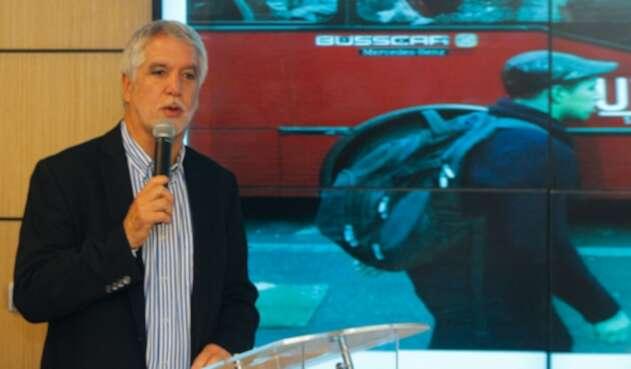 Enrique Peñalosa, alcalde de Bogotá
