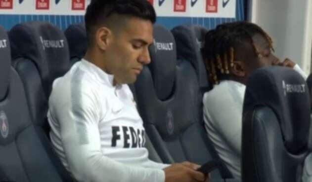 Radamel Falcao en el Mónaco