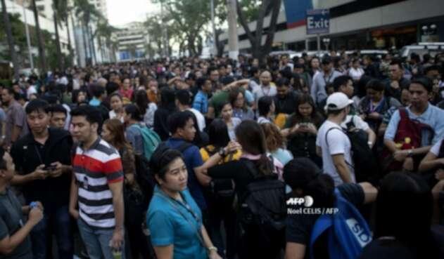 Sismo en Filipinas