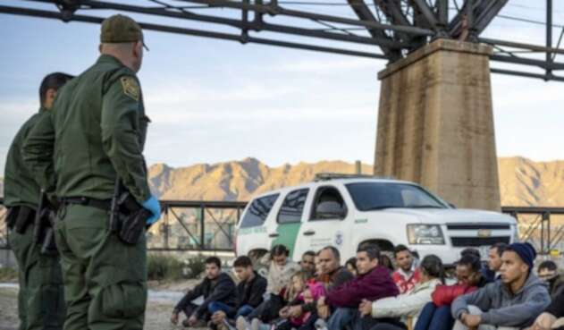 Frontera de México con Estados Unidos.