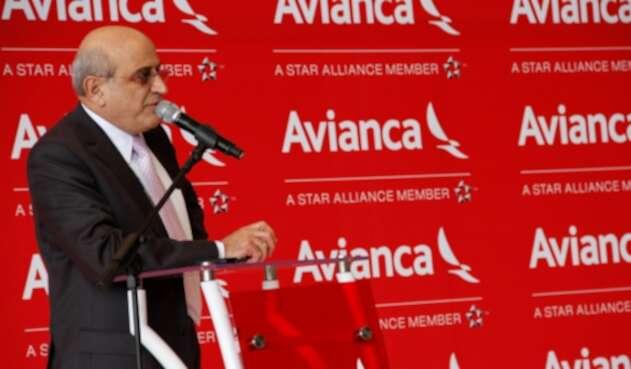 Germán Efromovich, ex presidente de la junta directiva de Avianca