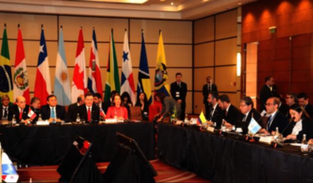 Sesión del Grupo de Lima