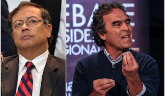 Gustavo Petro y Sergio Fajardo, ex candidatos presidenciales
