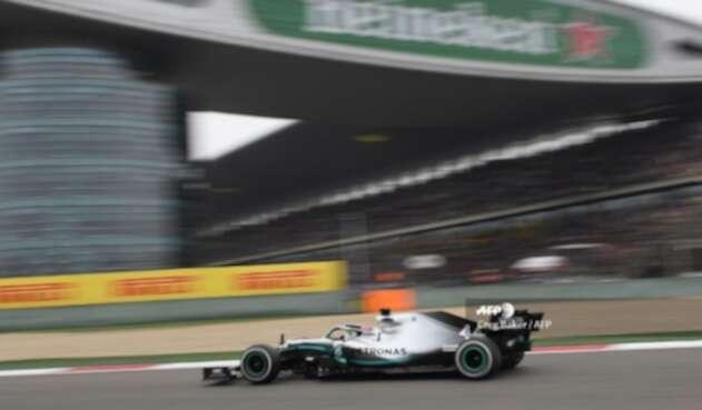 Lewis Hamilton durante el Gran Premio de China de la Fórmula 1 2019