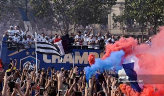 Hinchas Selección de Francia