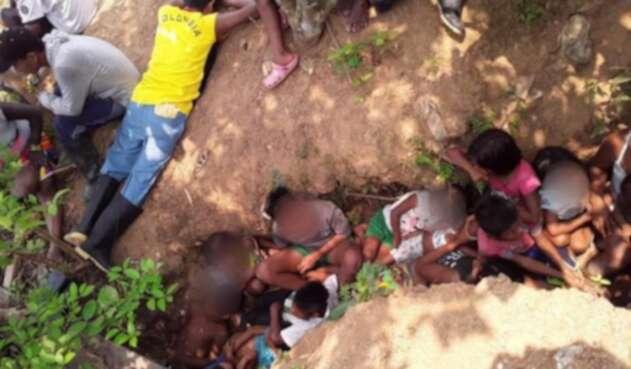 Confinamientos en Chocó por combates.
