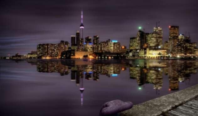 Panorámica de Toronto, Canadá