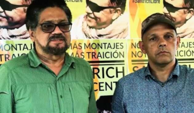 Iván Márquez y alias El Paisa, cuyo paradero es incierto