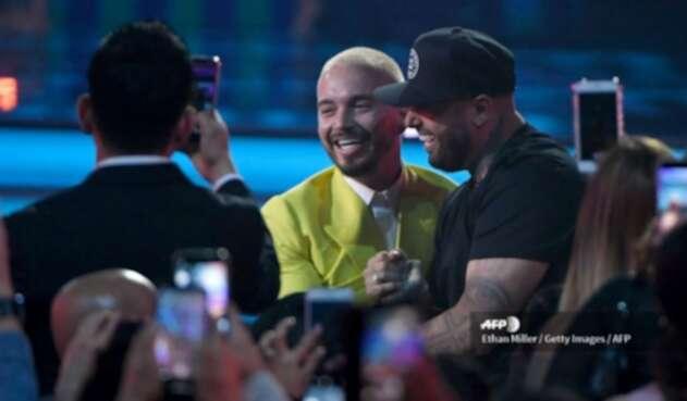 J Balvin en los Premios Billboards 2019