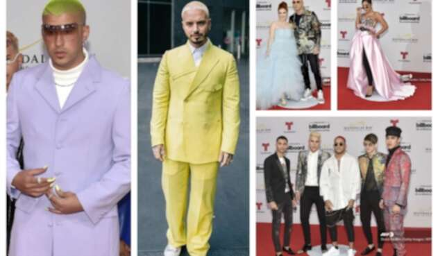 Looks extravagantes de los Billboards