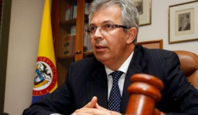 Jaime Arrubla, expresidente de la Corte Suprema de Justicia