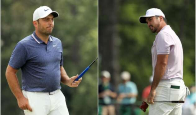 Jason Day y Francesco Molinari