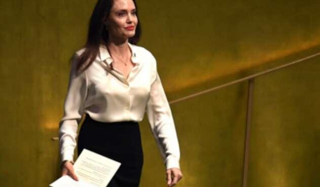 La famosa actriz aseguró que la paz no es posible sin el papel de la mujer