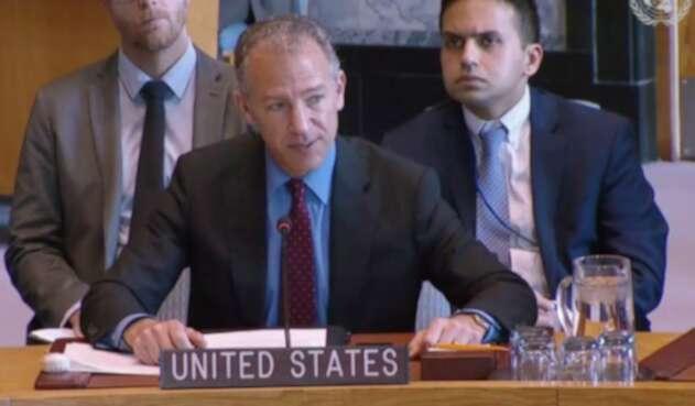 Jonathan Cohen, embajador norteamericano ante la ONU