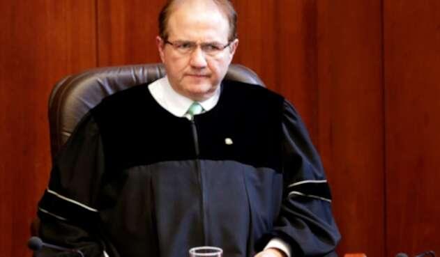José Leonidas Bustos, expresidente de la Corte Suprema de Justicia