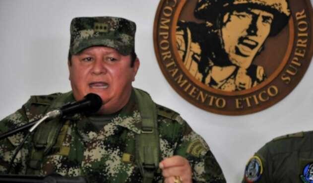 Juan Pablo Amaya, agregado militar en Estados Unidos