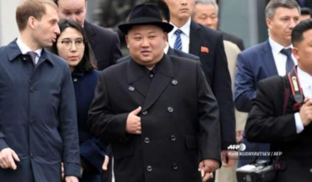 Kim Jong Un, previo a su viaje a Rusia