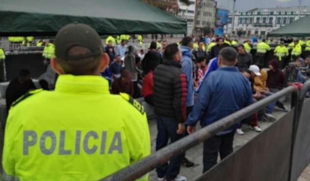 Captura masiva de ladrones en Bogotá