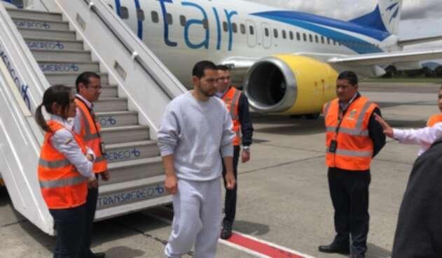 Leonardo Pinilla, deportado a Colombia desde Estados Unidos