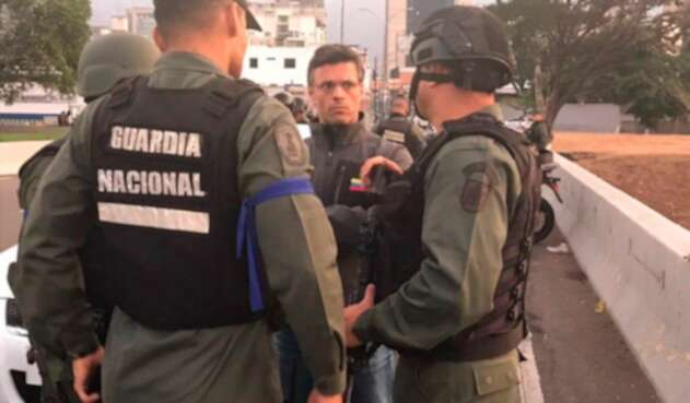 Leopoldo López, opositor venezolano, en Caracas tras recuperar su libertad