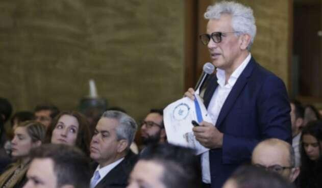 Ricardo Lozano, ministro de Ambiente