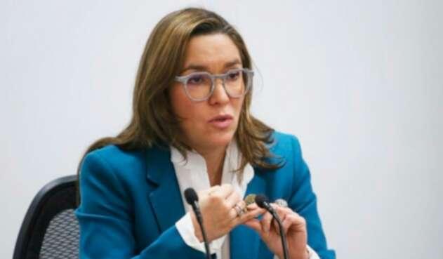 María Fernanda Suárez, ministra de Minas