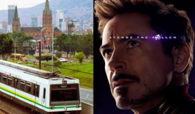 Metro de Medellín y Tony Stark