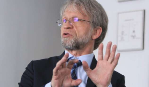 Antanas Mockus, exalcalde de Bogotá