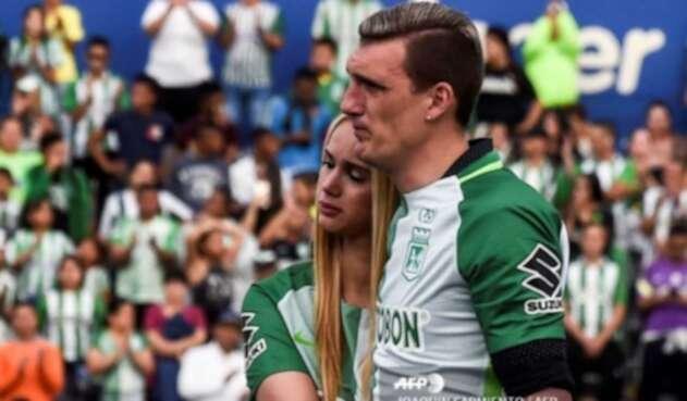 Daniela Rendón y Franco Armani